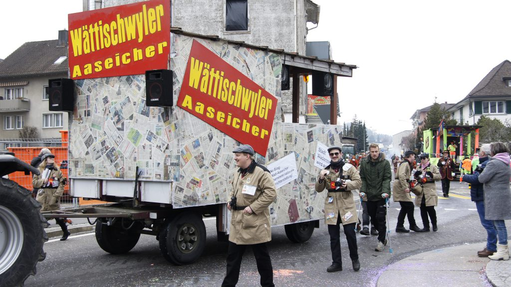 Wädi-Büezer Fasnacht 18