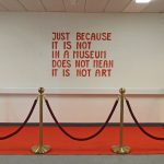 So wurden die Ausstellungsbesucher im 1. Stock empfangen. (Fotos: Reni Bircher)