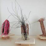 … macht filigrane Textilkunst.