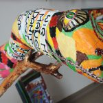 Cornelia Lachenmeier, Wilen, ist mit zwei- und dreidimensionaler Kunst vor Ort.