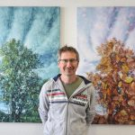 Marco Gradenecker aus Richterswil arbeitet mit Doppelbelichtungen.