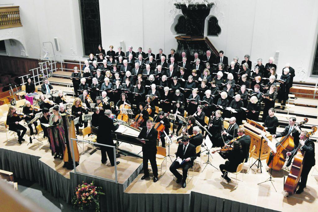 Kirchen- und Oratorienchor, Händels «Alexander's Feast»