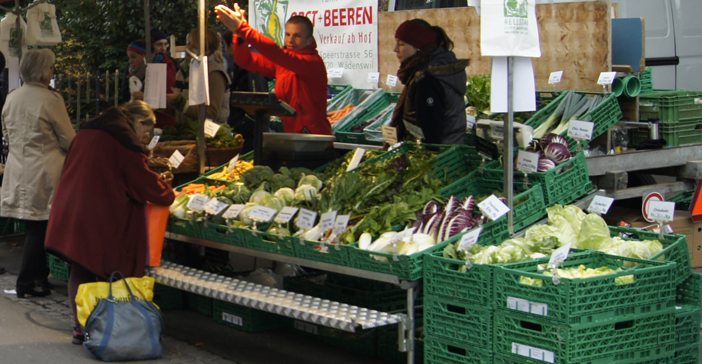 Wochenmarkt Wädenswil