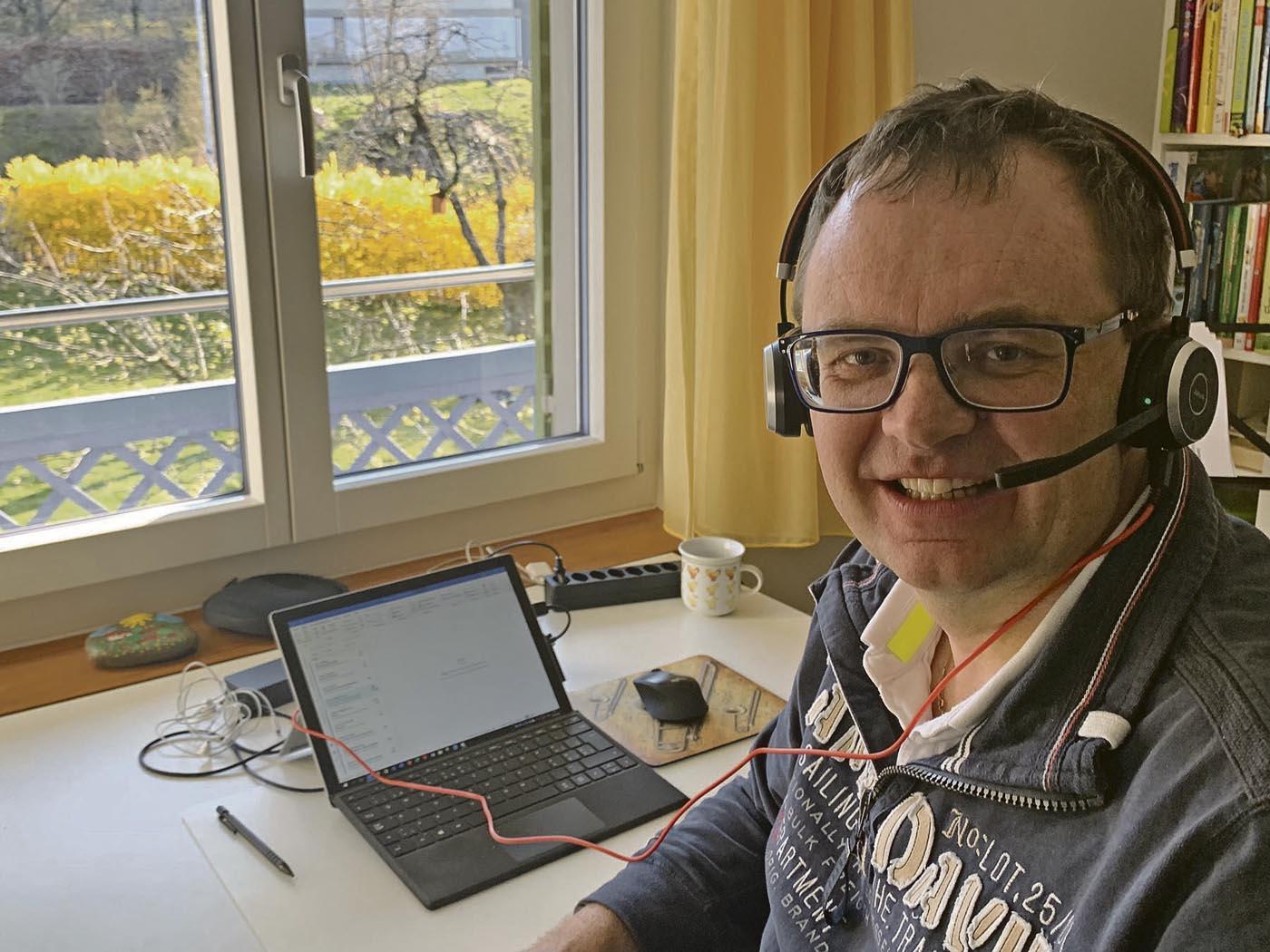 Benedikt Koch - Bild Homeoffice